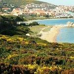 Spiaggia dell'isolotto (di fronte al B&B)