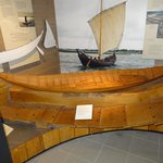 model of the boat found