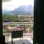 View dari kamar 505..ISTIMEWA