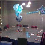 x14 people for a 50th Birthday meal, in upstairs function/ p