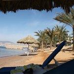 Stranden (hör till hotellet)