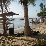 A praia em final de tarde!