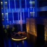 3rd Flr Atrium at night