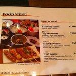 English menu - a good recommendation