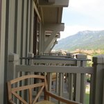 balconies & mountains