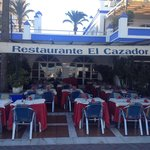 El Cazador, opposite on the Front of the Port
