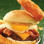 All Angus Bacon Egg and Cheese Burger