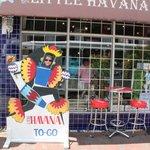 Tienda donde tomamos café cubano