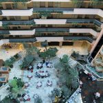 View of the lobby from the 10th floor