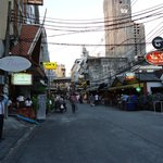 View looking down the Soi to Sukhumvit