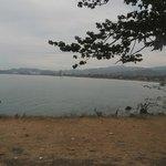vue de la plage jaco
