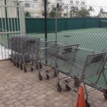 Grocery carts for carrying your stuff