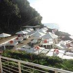 terrazza  vista dal ristorante