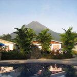 Habitaciones con vista al Volcán