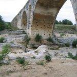 Pont Julien riverbed