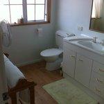 The Gold Room bathroom