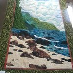 Napali Coastline Quilt.  I bought this one!
