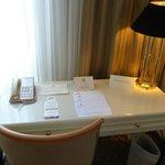 papeles de información del hotel