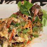 Crispy Soft Shell Crab salad Esarn style