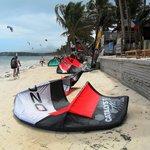 Bulabog beach...for Kite boarding only!
