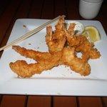 Appetizer: Shrimp tempura platter