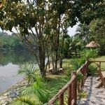 Terrasse en bord de rivière