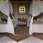 Double beds- even though I had booked a King