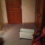radiateur au milieu de la pièce