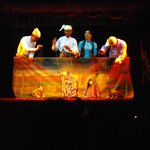 Mandalay Marionettes: four puppeteers appear