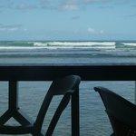 Vue de la terrasse du Coral Reef