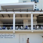 View of the Bar/Restaurant from the beach
