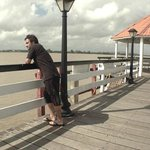 Pier and Suriname River.