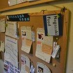 長崎の情報がたくさん貼ってありました