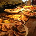 Hot plate with daily freshly prepared specials!