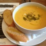 Always a freshly made SOUP OF THE DAY!