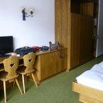Camera spaziosa e confortevole