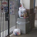 garbage everywhere