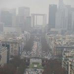 View of La Défense from Arc de Triomphe