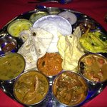 the amazing thali!