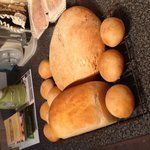 Hmmmm.  Delicious homemade bread, straight from our Aga.