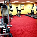 Large Spacious Fitness Room with Free Weights