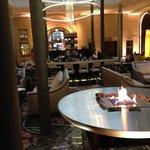 Blick in die Hotelbar