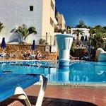 Bottom Pool at Pefkos Beach Hotel