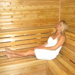 Enjoy our sauna