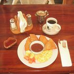 Belizean breakfast