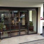 entrata dell'hotel