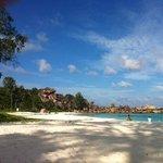 spiaggia immensa e di sabbia finissima