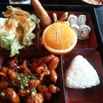 Orange Chicken Bento Box (Lunch)
