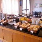 Sala de café da manhã.