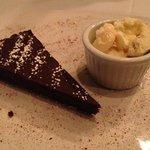 Flourless Chocolate Kahlua Torte! Heaven for any chocolate lover!